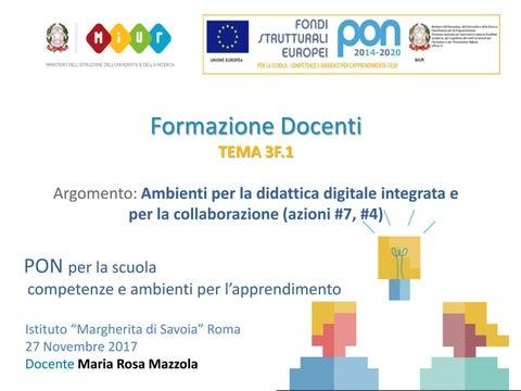 Modulo 3F.1 Ambienti per la didattica digitale integrata e per la  collaborazione di M.R.Mazzola 00973b88c28
