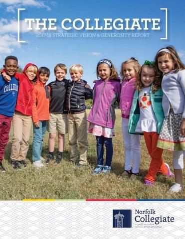 The Collegiate: 2017-18 Strategic Vision & Generosity Report by