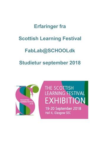 quality design dc742 88be1 Erfaringer fra Scottish Learning Festival 2018