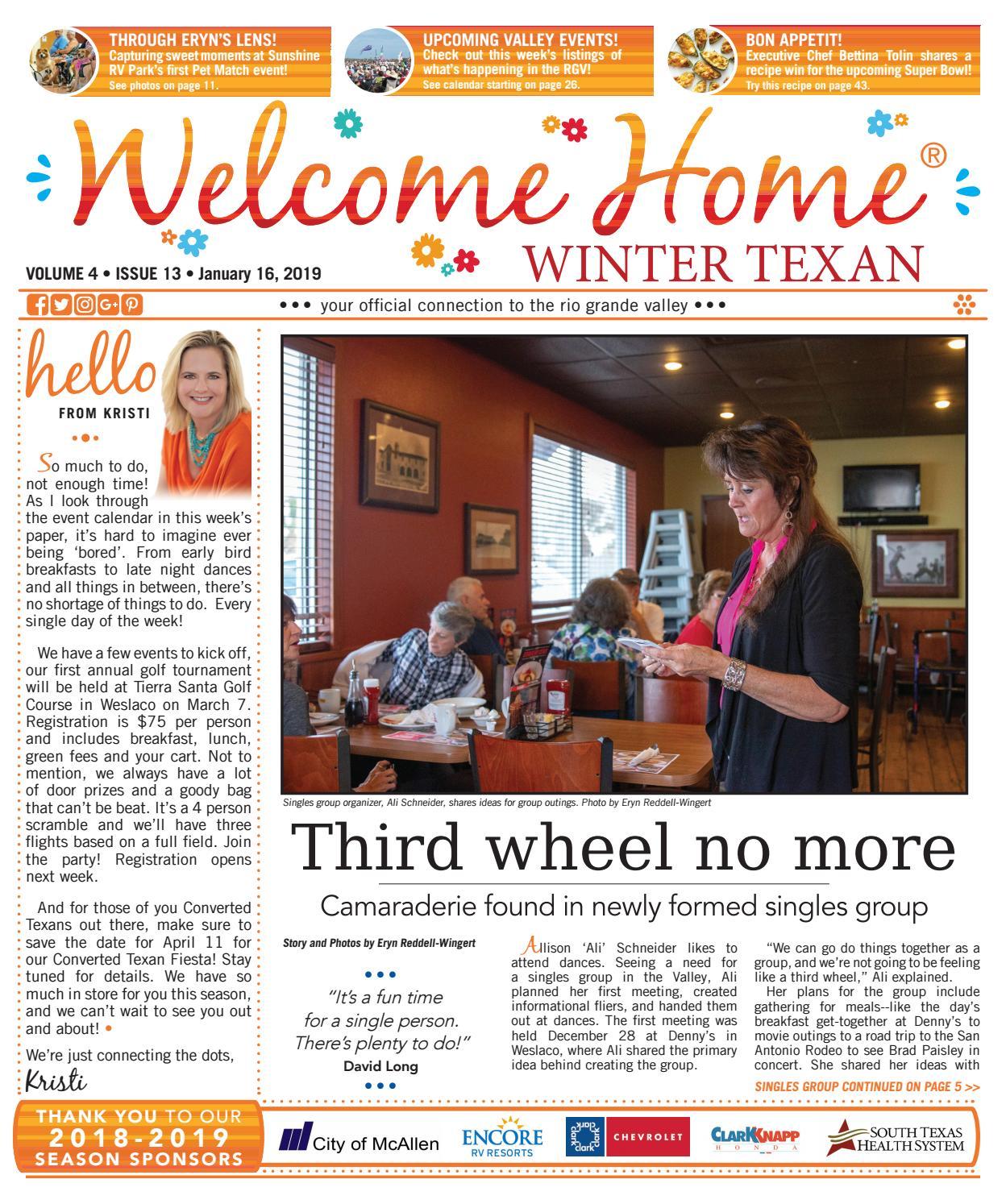 da3d385c3de Welcome Home Winter Texan   Vol 4 Issue 13   January 16