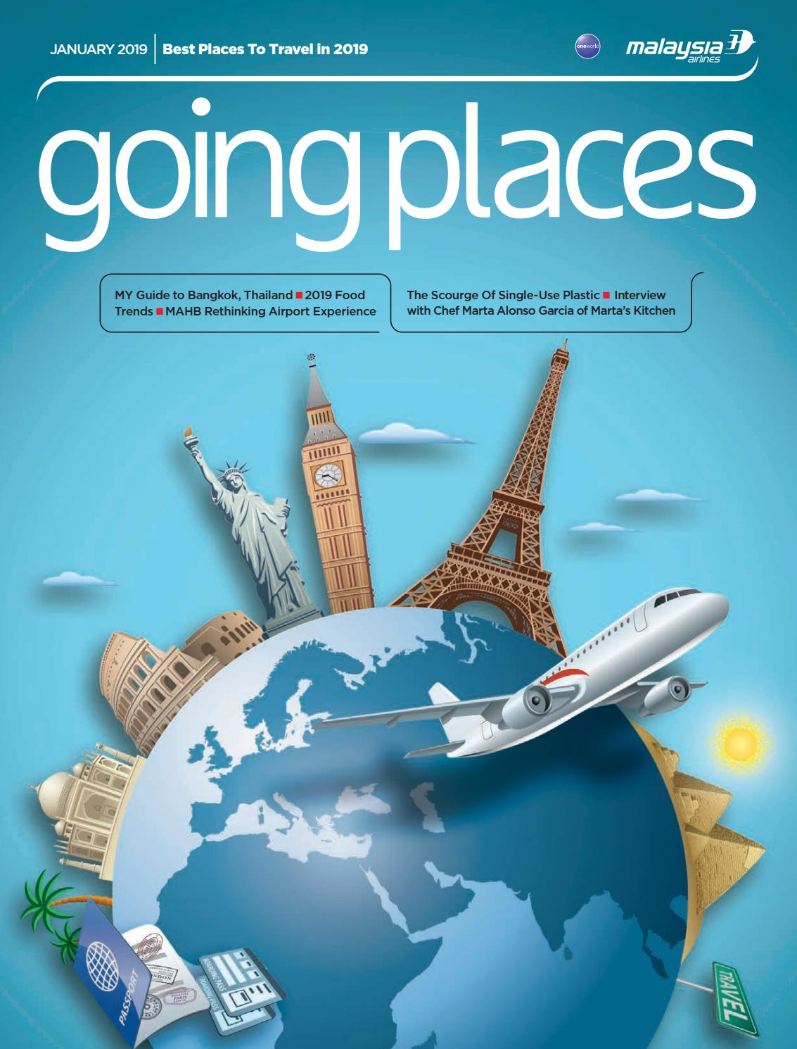 Going Places January 2019 by Spafax Malaysia - issuu