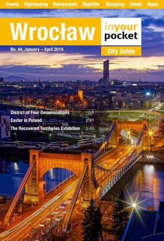 Wroclaw In Your Pocket January April 2019 By Poland In Your