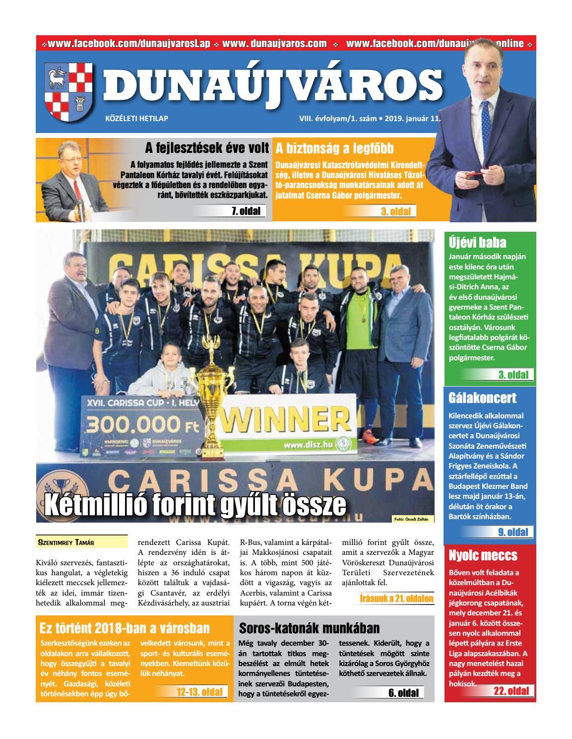 DKH 2019-01-11 by Dunaújváros Közéleti Hetilapja - issuu 8b79087cb4