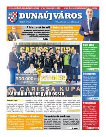 DKH 2019-01-11 by Dunaújváros Közéleti Hetilapja - issuu 3afaa527ab