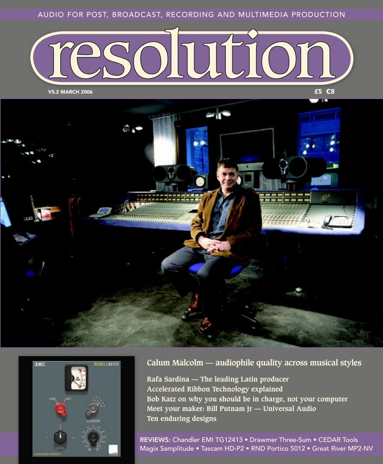 Resolution V5 2 March 2006 by Resolution - issuu