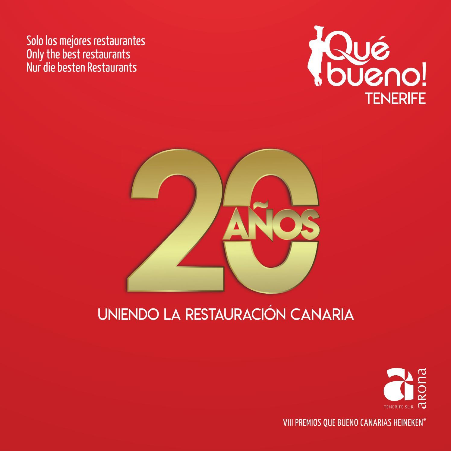 Qué bueno! Tenerife 2019 by Que Bueno Canarias issuu