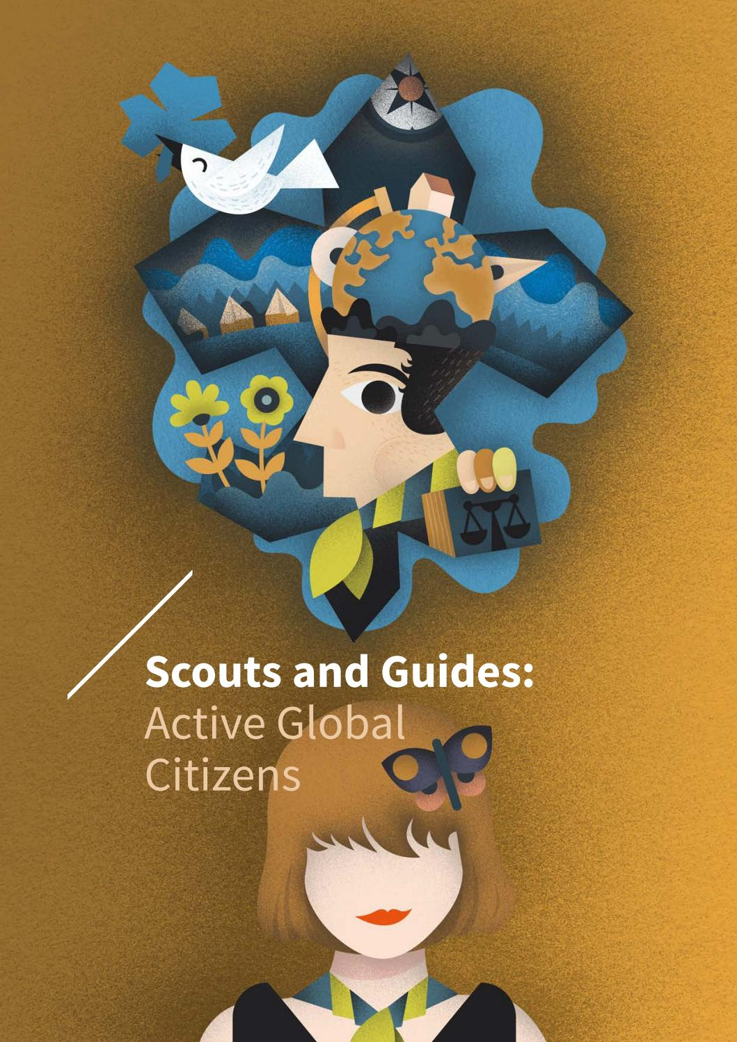 Scouts and Guides Active global citizens by Skavtinje in