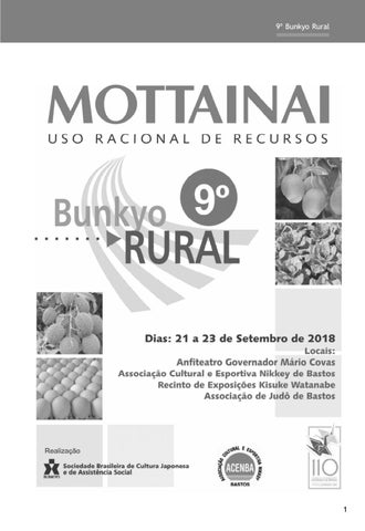 0accc3226 Anais do 9º Bunkyo Rural de Bastos - palestras by Francisco Sato - issuu