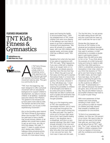Page 75 of Disability Services: TNT Kid's Fitness and Gymnastics