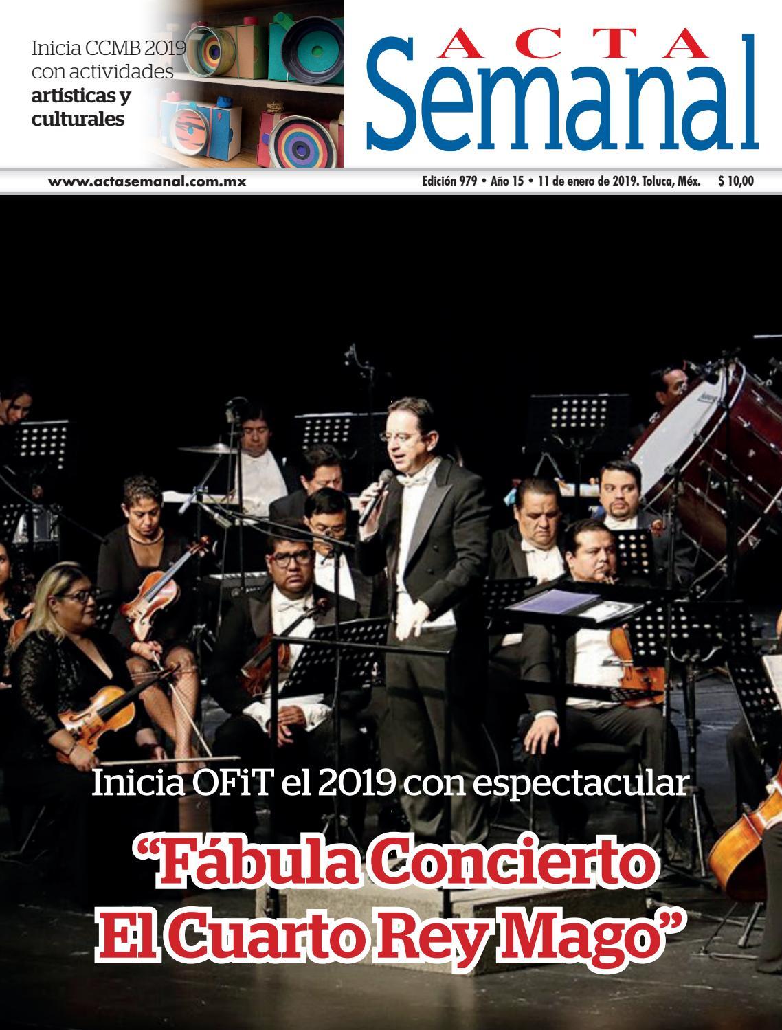 Acta Semanal Enero II by Portal, Diario del Estado de México ...