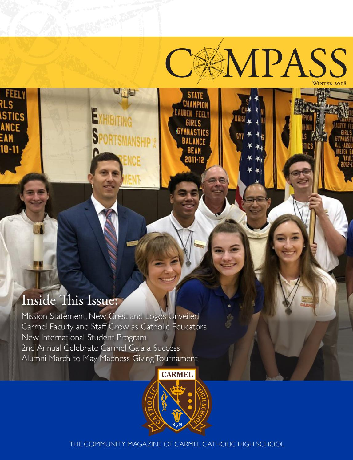 2018 Winter Compass By Carmel Catholic High School Issuu