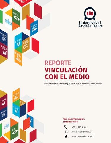 55783e450f62 UNAB - Reporte de Vinculación con el Medio 2017 by Hector Hidalgo ...