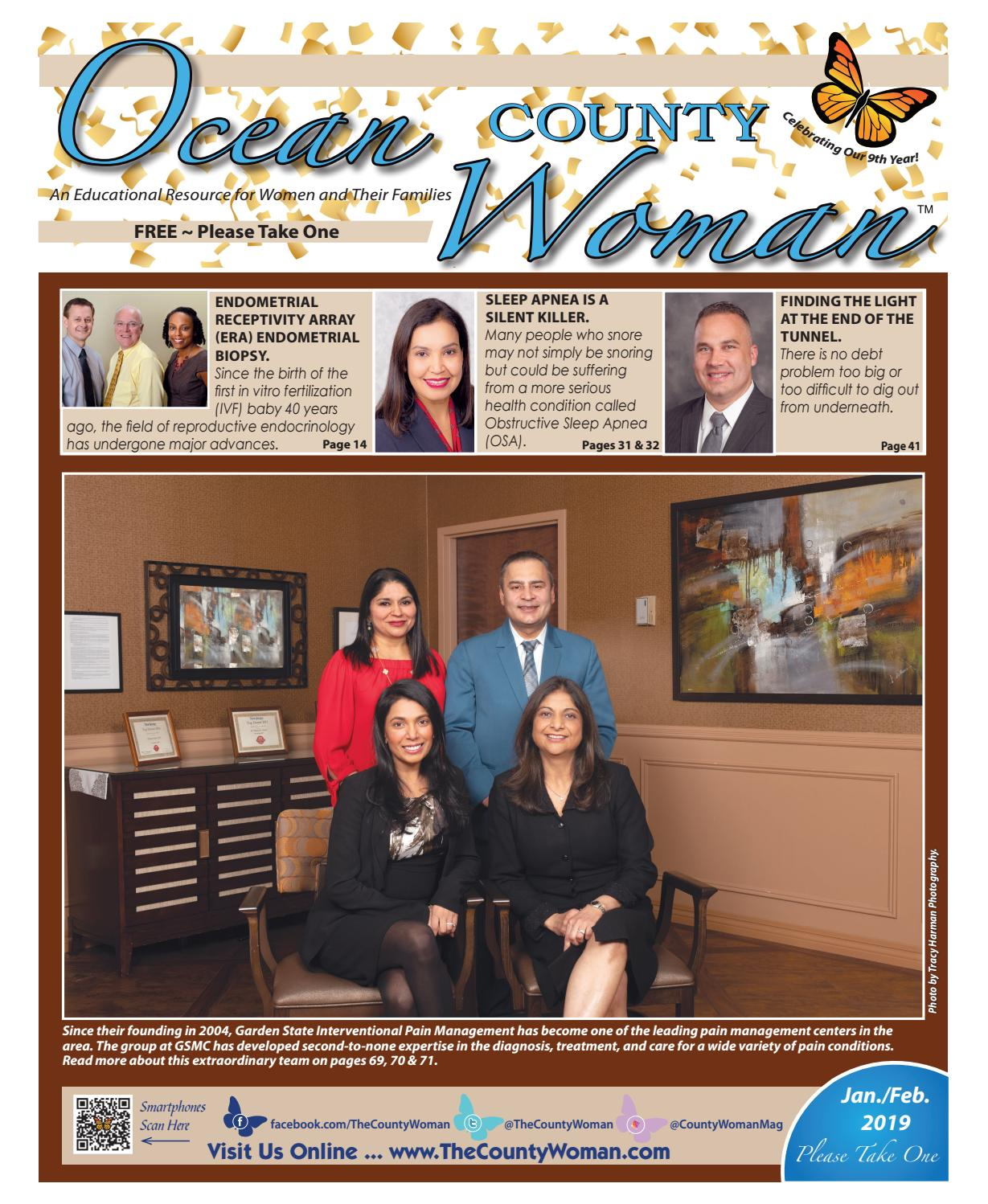 Ocean County Woman - January/February 2018 by The County Woman - issuu