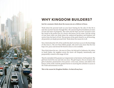 Page 4 of Why Kingdom Builders?