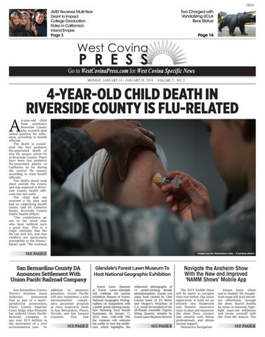 West Covina Press - 01/14/2019 by Beacon Media News - issuu