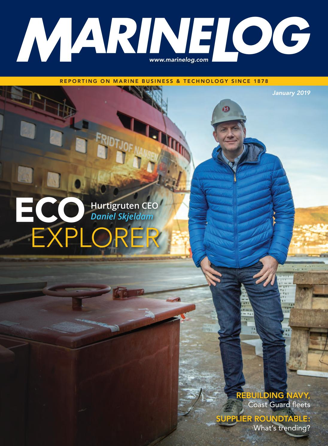 Marine Log January 2019 by Marine Log - issuu