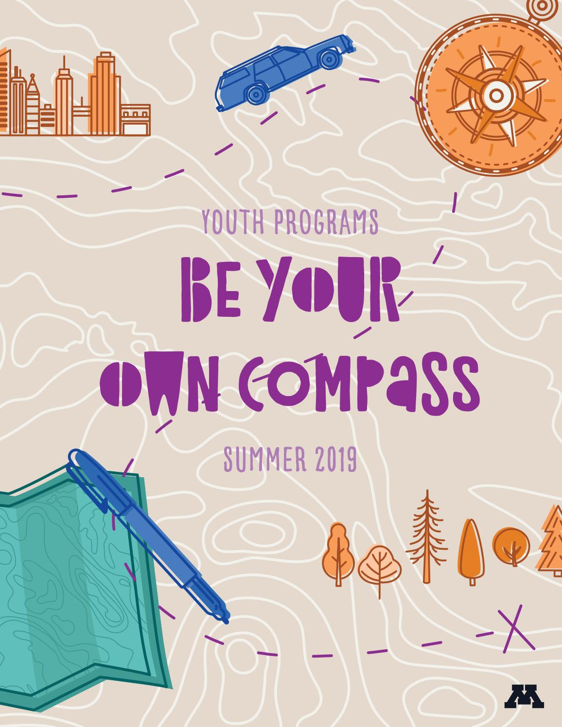Umn Academic Calendar.Be Your Own Compass Umn Youth Programs Summer Camp 2019 By