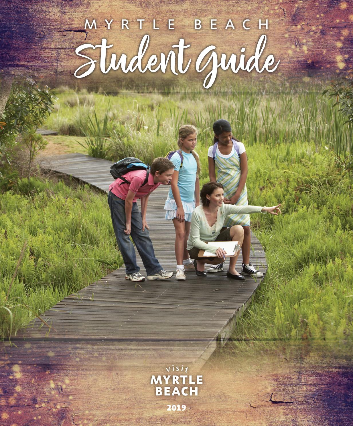 Myrtle Beach Student Guide 2019 by The Group Travel Leader