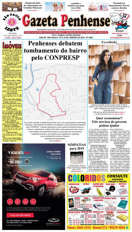545d99433 Gazeta Penhense edição 2388 - 12 a 19 01 19 by Marcelo Cantero - issuu