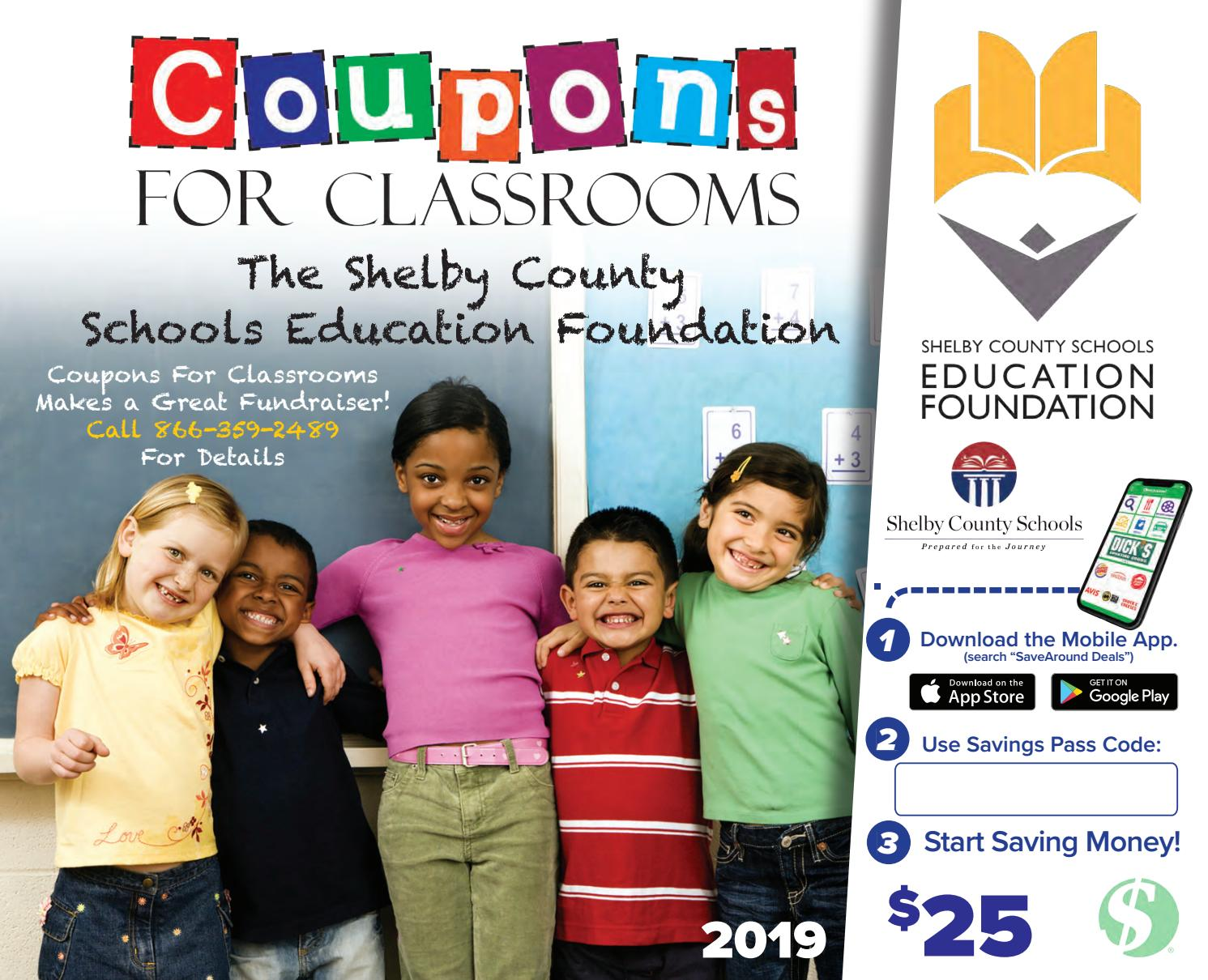 Shelby County Schools Education Foundation by SaveAround - issuu