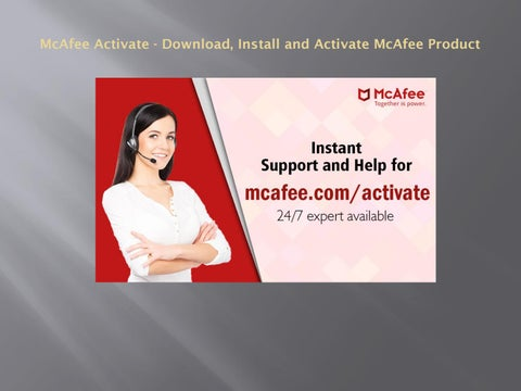 Mcafee. Com/activate | mcafee activate | mcafee retail card by.