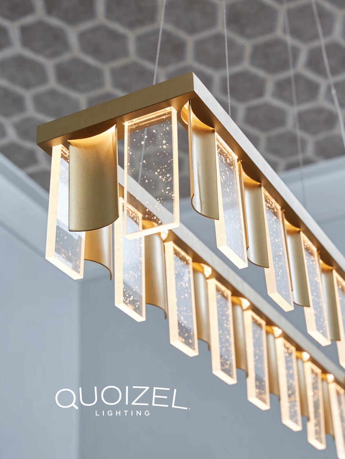 QF3631PN Quoizel 3 Light Fixture Semi-Flush Mount Palladian Bronze