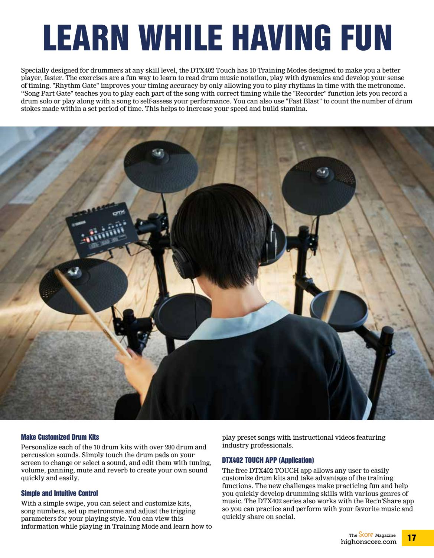 The Score Magazine January 2019 issue by The Score Magazine