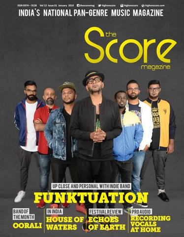 The Score Magazine January 2019 issue by The Score Magazine - issuu