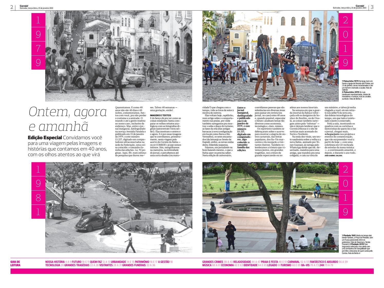 d2eb2bf7d Edição CORREIO 40 anos - 1ª parte by Jornal Correio - issuu