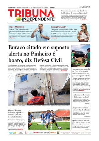 2591105742 Edição número 3310 - 15 de janeiro de 2019 by Tribuna Hoje - issuu