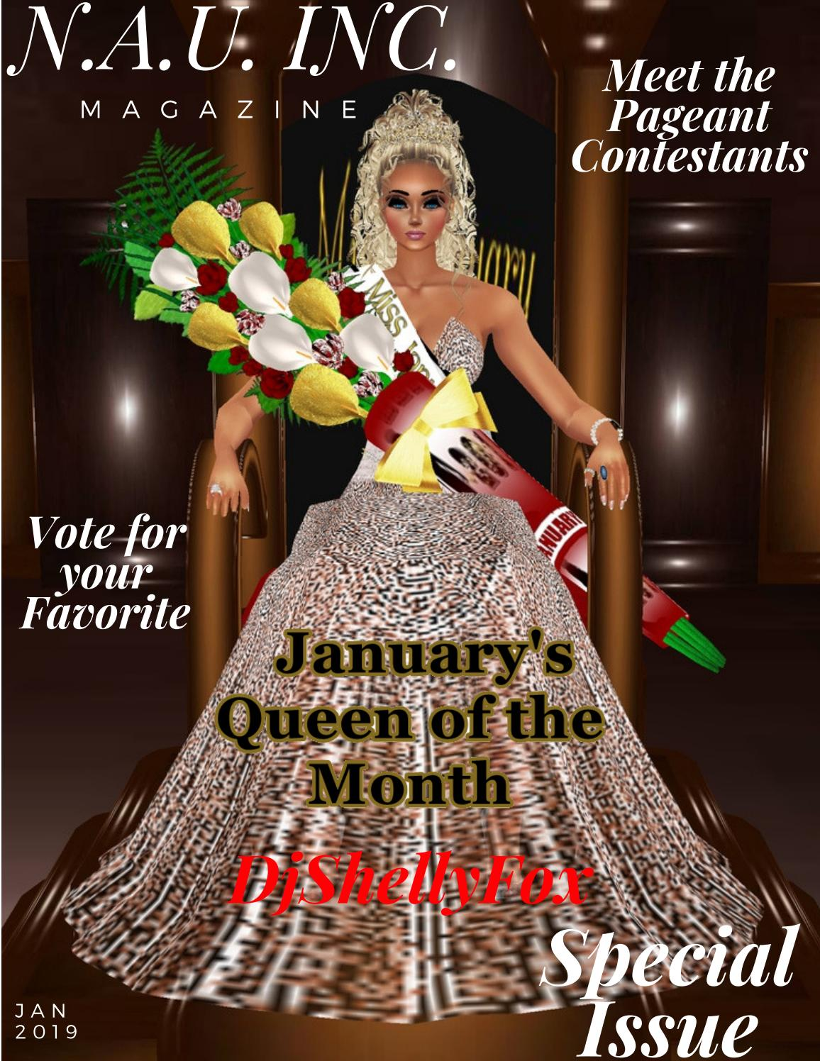 Miss Imvu USA Pageant Competition January Edition by KhandiS