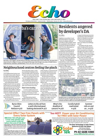 The Byron Shire Echo – Issue 33 32 – January 16, 2019 by Echo