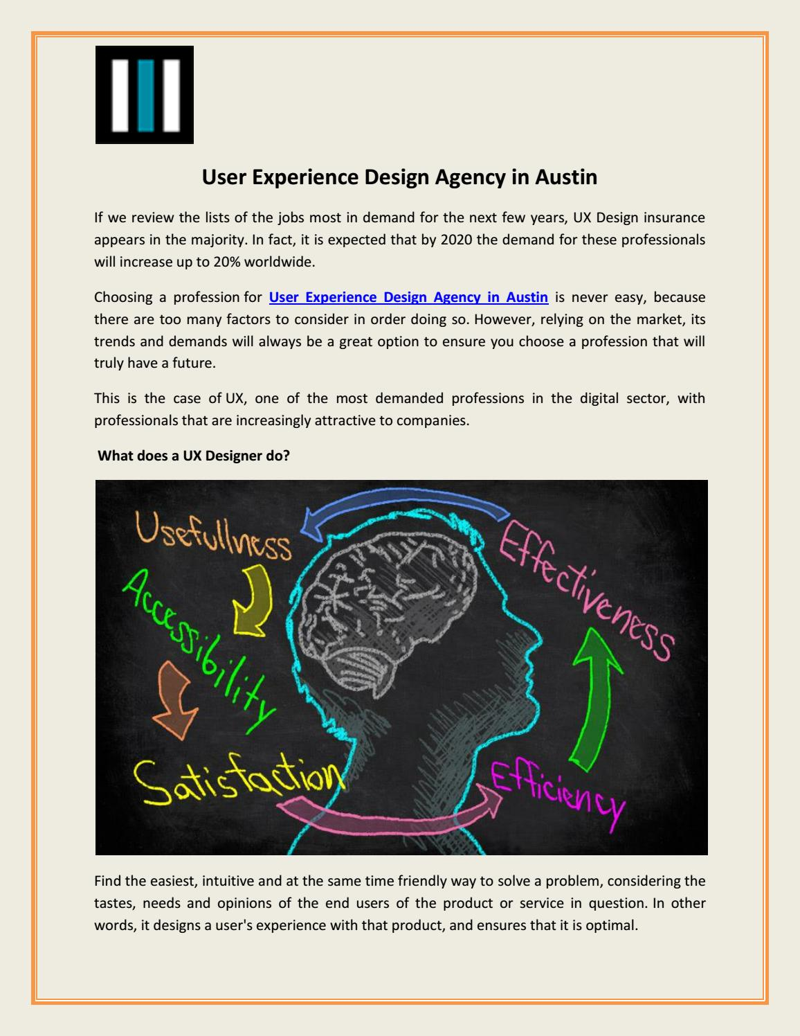 User Experience Design Agency In Austin By Iiimpact Design Issuu