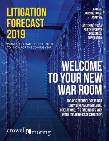 C&M Litigation Forecast 2019 by Leverage Media - issuu