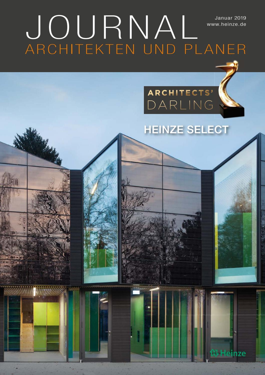 Journal Architekten und Planer Januar 25 by Heinze GmbH   issuu