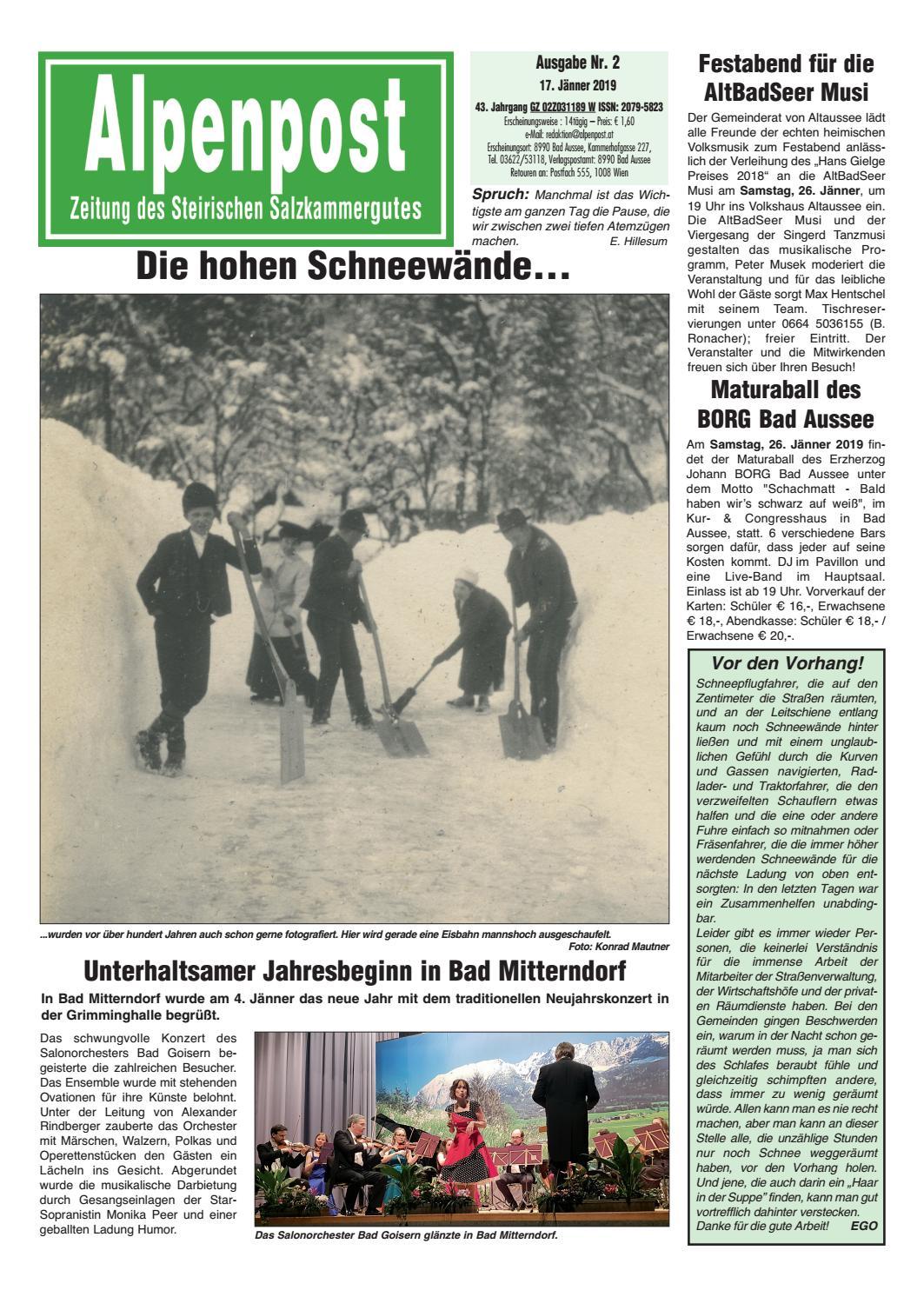 Als single aus bad mitterndorf - Viktring singlebrsen - Neu