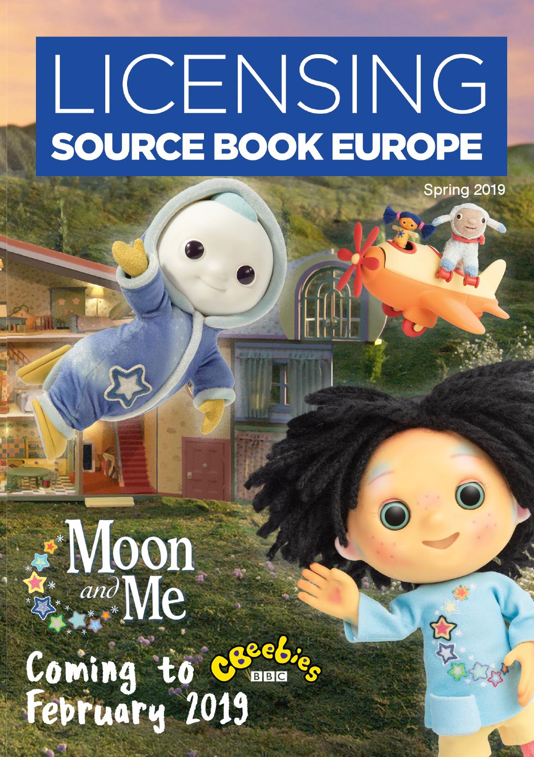 72410cd3642c Licensing Source Book Europe - Spring 2019 by Max Publishing - issuu
