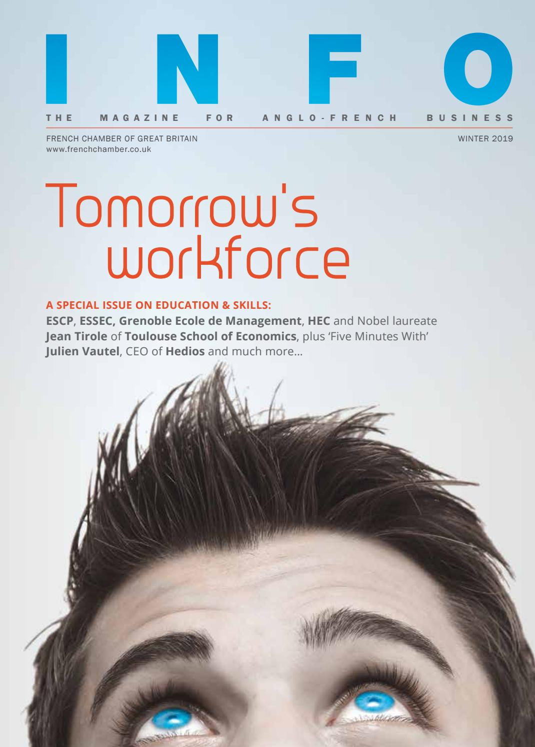 30e1c6a054d Tomorrow's Workforce by French Chamber of Commerce in Great Britain - issuu