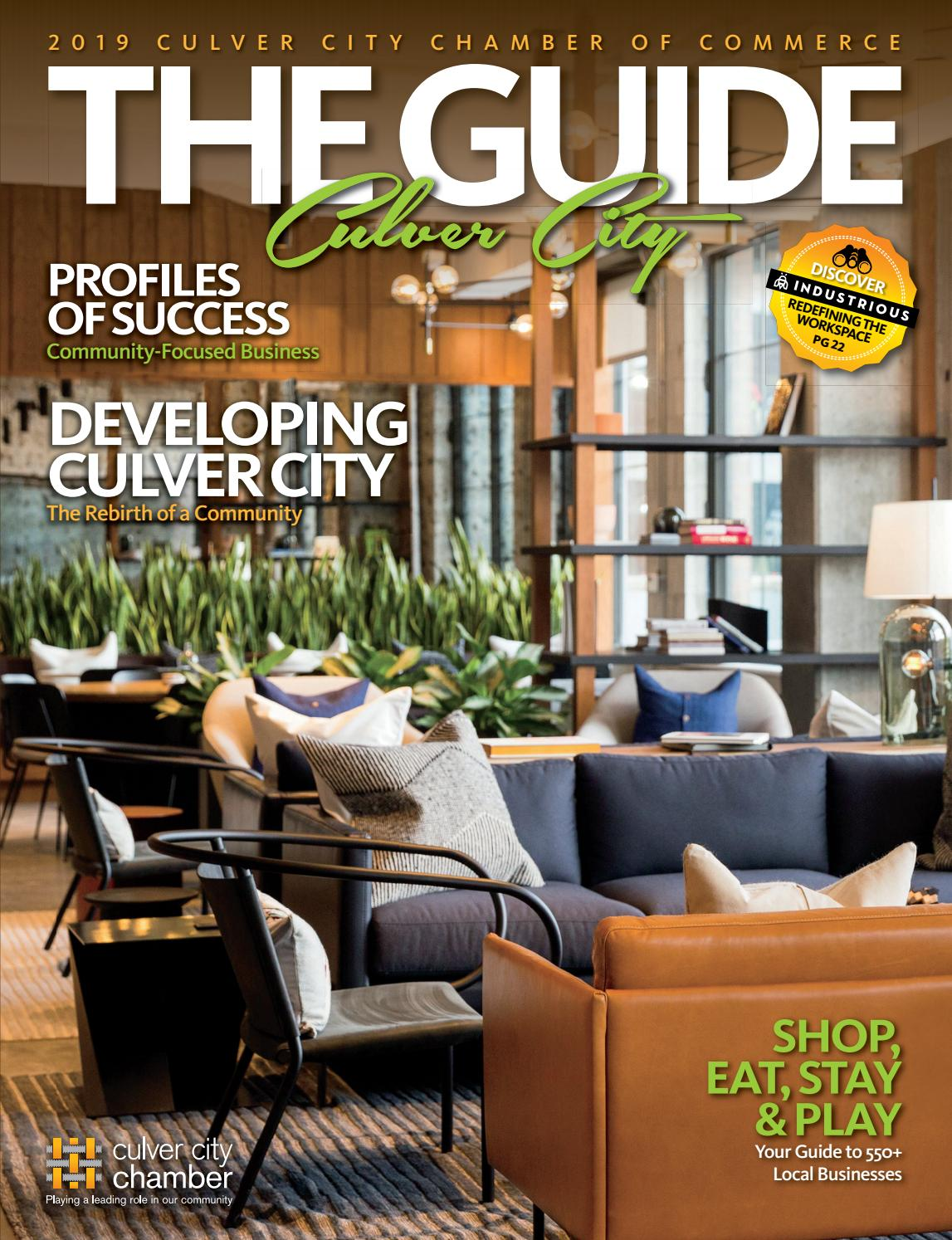 Culver City The Guide by Chamber Marketing Partners, Inc  - issuu