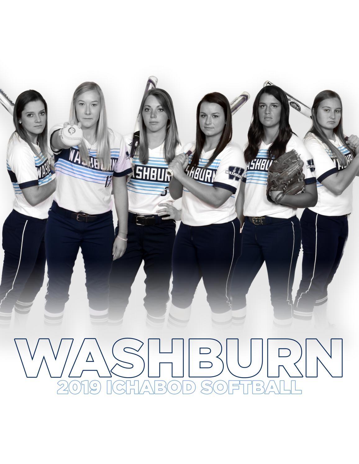 2019 Washburn Ichabod softball media guide by Washburn
