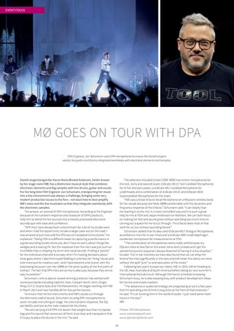 Page 22 of MØ Goes on Tour With DPA