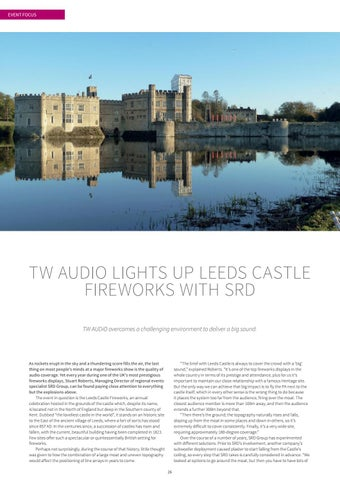 Page 26 of TW AUDiO Lights up Leeds Castle Fireworks with SRD