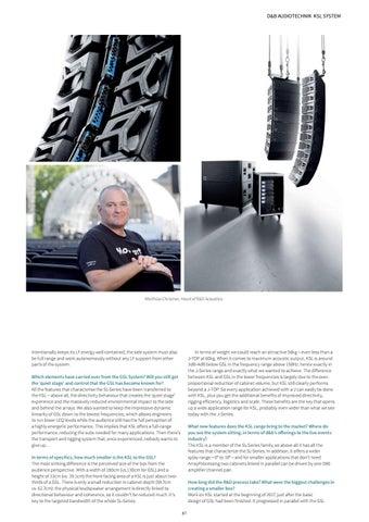 Page 87 of Gear Heads: d&b audiotechnik KSL System