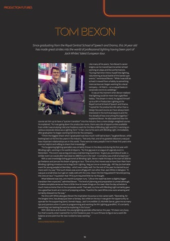 Page 96 of Production Futures: Tom Bexon