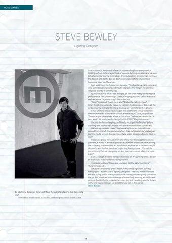 Page 98 of Road Diaries: Steve Bewley