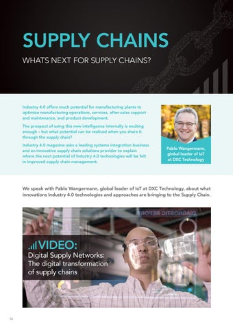 Page 14 of Industry 4.0 and Supply Chain