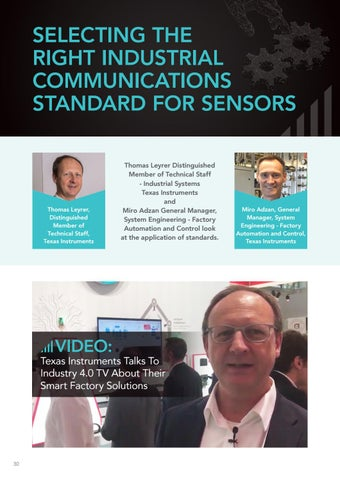 Page 30 of Selecting the right industrial communications standard for sensors