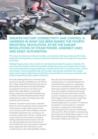 Page 31 of Selecting the right industrial communications standard for sensors