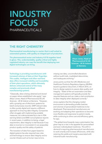 Page 4 of Industry Focus – Pharmaceuticals