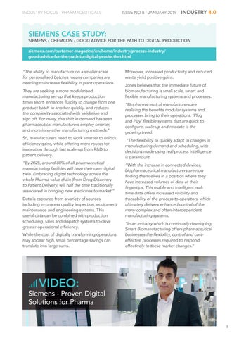 Page 5 of Industry Focus – Pharmaceuticals